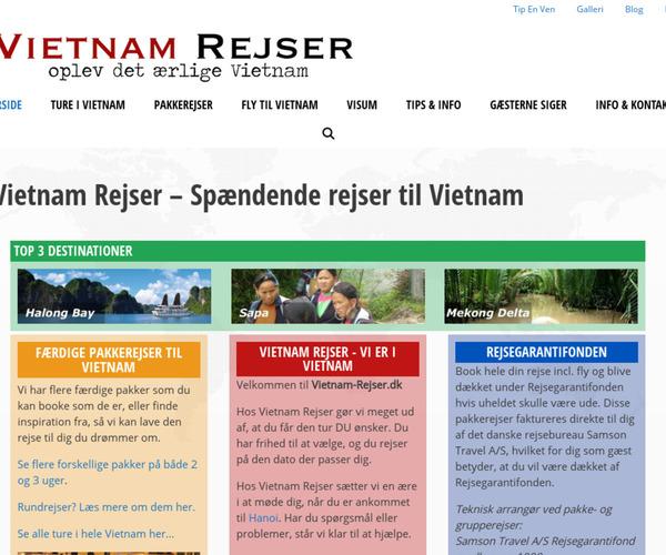 Vietnam Rejser